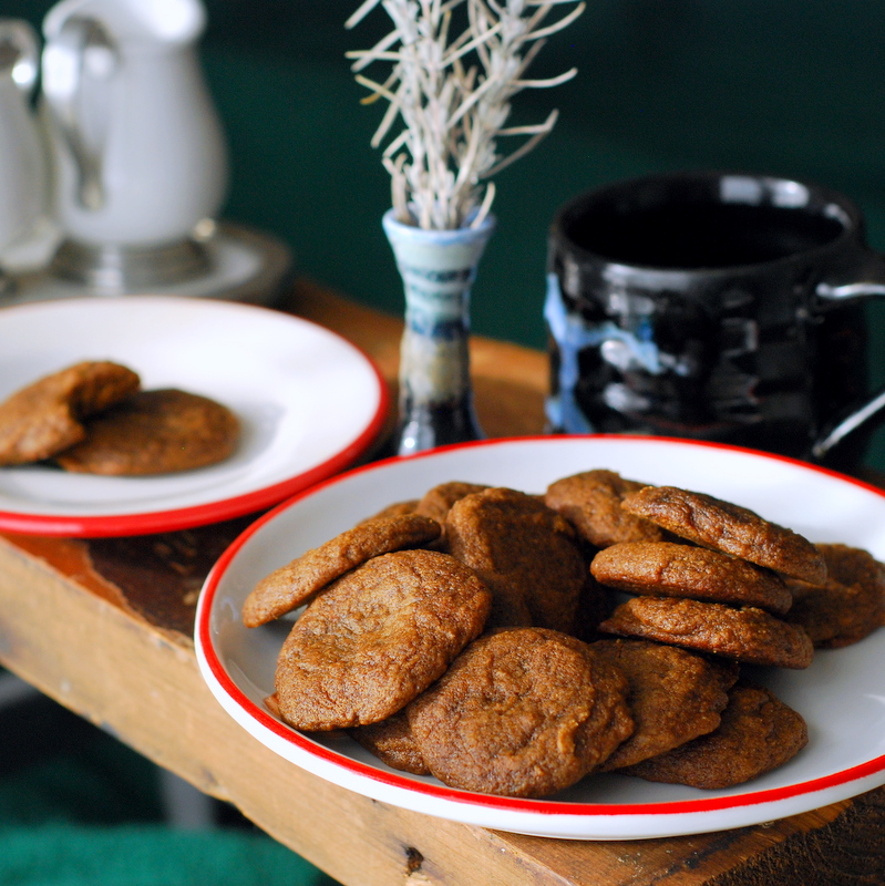 Maple Molasses Cookies